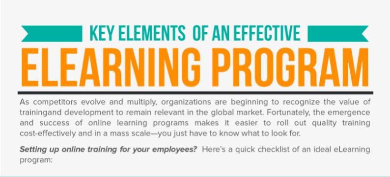 [INFOG] Key Elements of an Effective eLearning Program