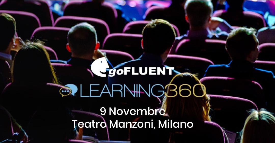 goFLUENT alla terza edizione di Learning360