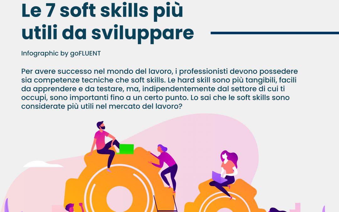 Le 7 soft skills più utili da sviluppare